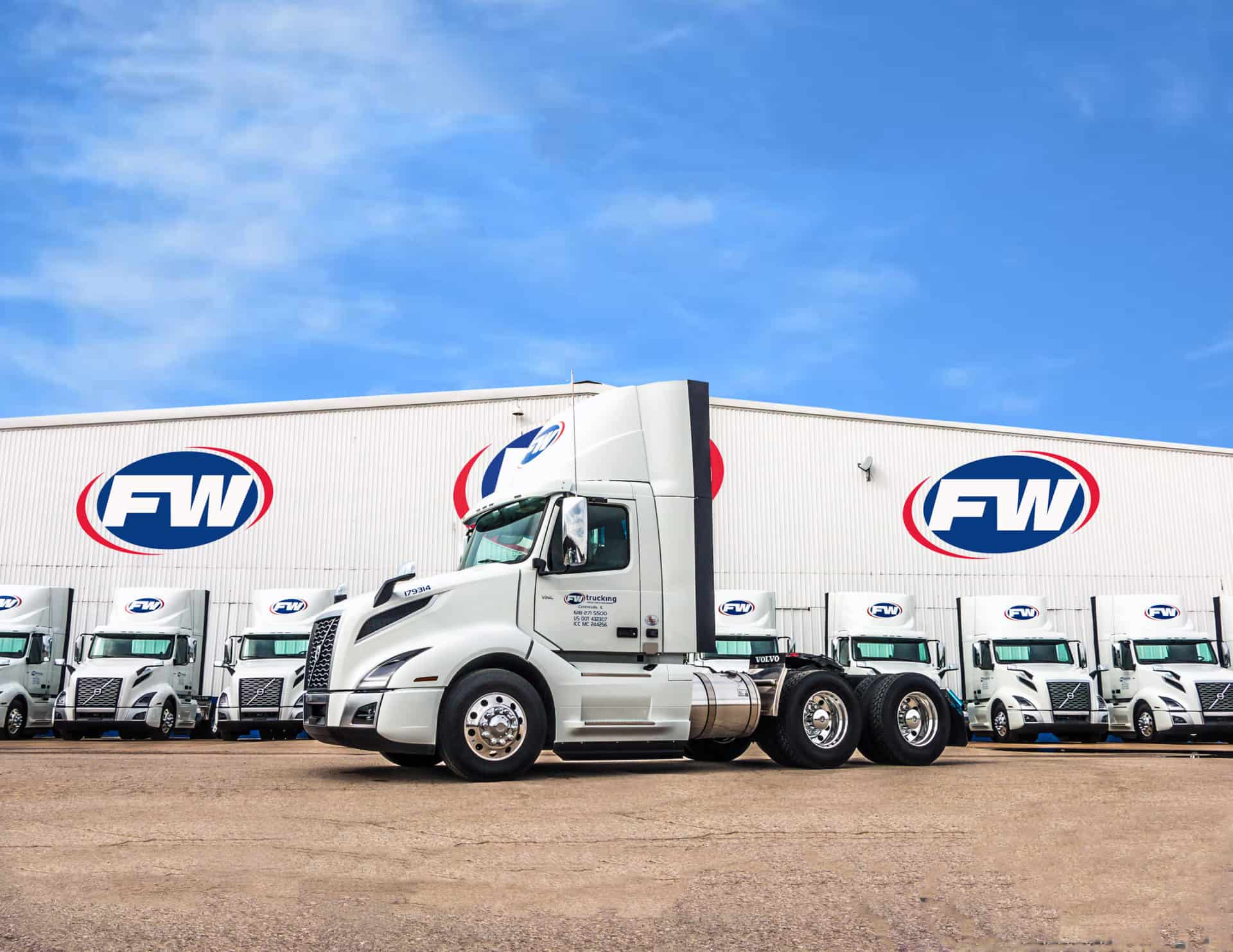 Trucking with FW Logistics